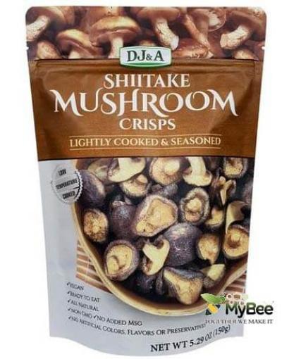 mushroom-crisps